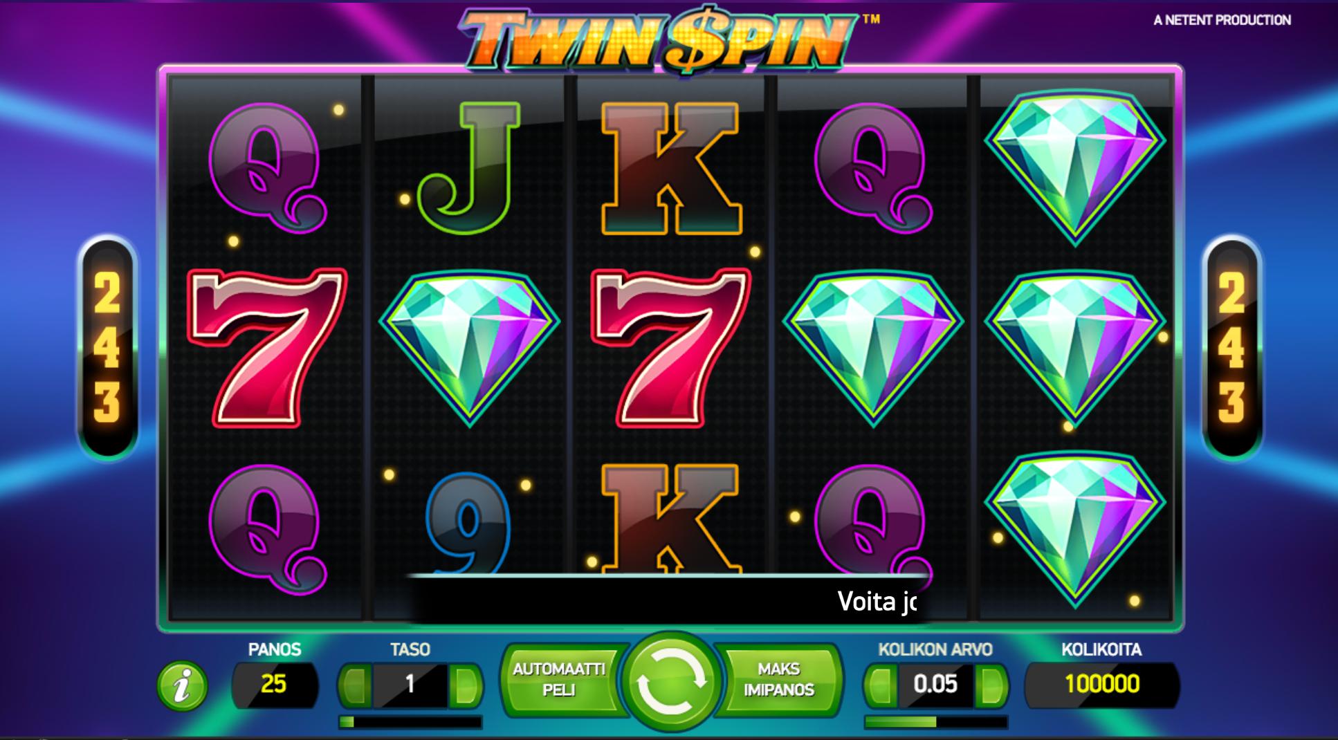 Retrotunnelmaisen Twin Spin -Pelin Arvostelu