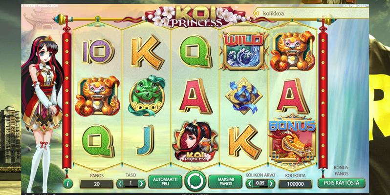 koi-princess-arvostelu-voittoluokat-bonuspelit-palautusprosentti