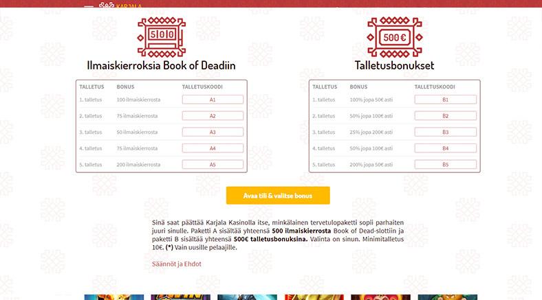 karjala-kasino-bonus-bonuskoodi